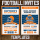 Football Ticket Party Invites 4