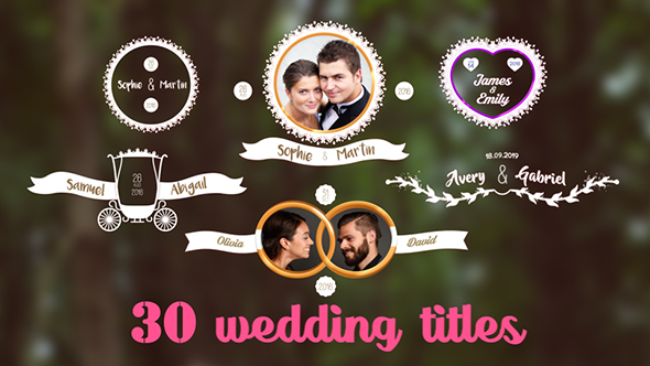 Download 30 Wedding titles nulled download