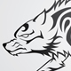 Wolf Tribal Tattoo - GraphicRiver Item for Sale