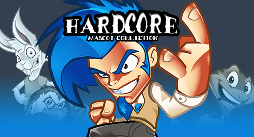 Hard Core Mascot