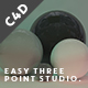 Easy Three Point Light Studio - Xpresso Controls
