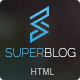Super Blog - Shopping Responsive HTML Template