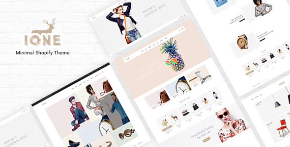Download iOne - Minimal Responsive Shopify Theme nulled download