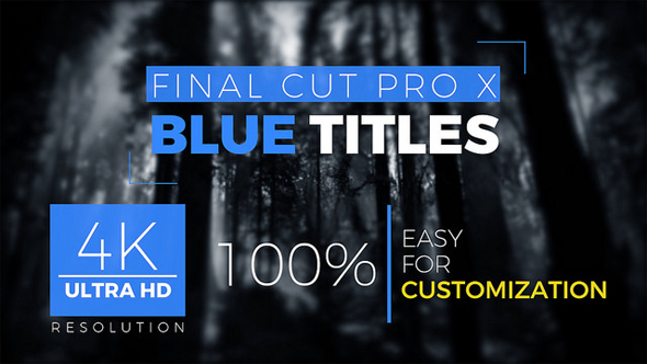 FCPX Titles 4k