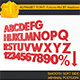 ALPHABET Font Futura Md BT Medium