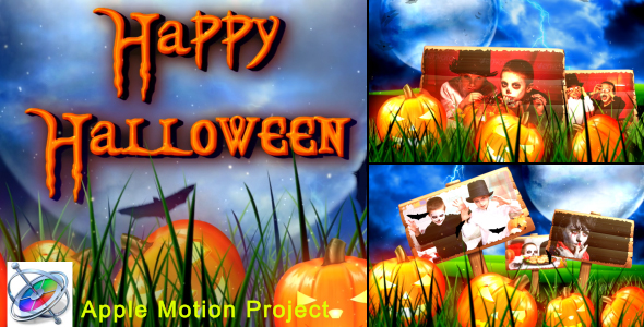 Halloween - Apple Motion