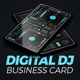 Download Digital DJ Business Card from GraphicRiver