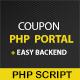 Coupon Portal PHP Script