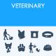 Veterinary icons