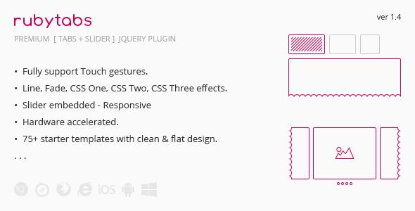 RubyTabs - Premium Tabs & Slider
