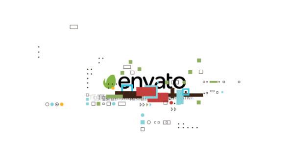 Download Shape Glitch Logo nulled download
