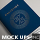 Passport | Booklet Photo Realistic Mock Up