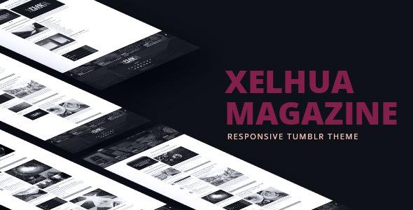 Xelhua Magazine - Responsive Tumblr Theme