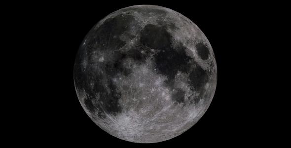 Moon 4k - 3DOcean Item for Sale