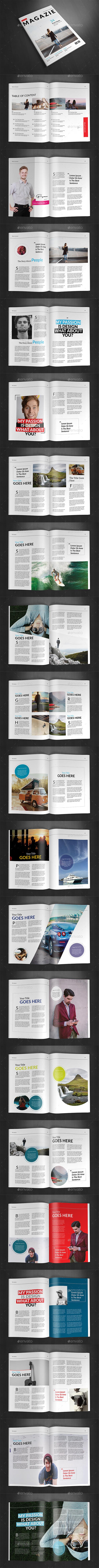A4 Magazine Template Vol.21