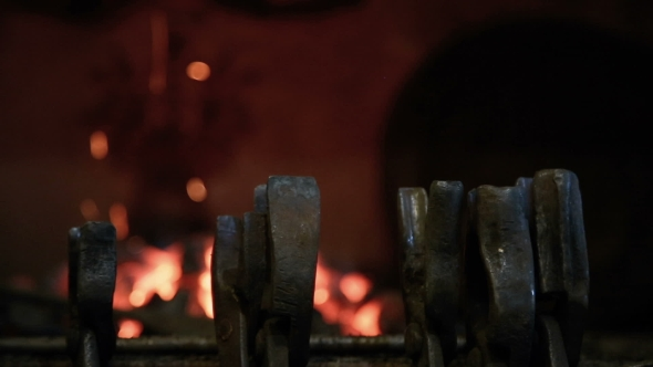 Download Fire and Hot Coals in the Fireplace nulled download