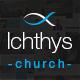 Ichthys - Church / Events / Religion / Donation / Nonprofit / Sermon / Charity WordPress Theme