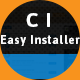 Codeigniter Installer - Version 2.X / 3.X Easy Installer