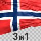 Norway Flag Pack