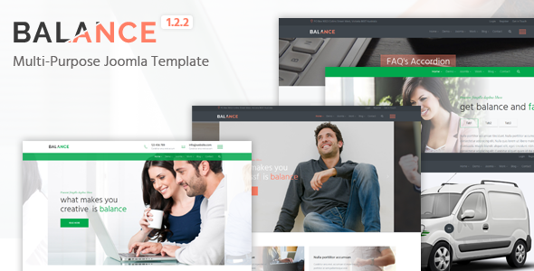 Balance - Multipurpose Joomla Template
