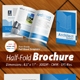 Half-Fold Brochure Panels [ 4 Pages ] Print Ready - GraphicRiver Item for Sale