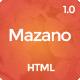 Mazano - Trendy HTML Template