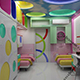 Trendy kids interior 206