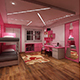 Trendy kids interior 208