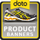 HTML5 E-Commerce Banners - GWD - 7 Sizes (Elite-CC-100)