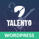 Talento - Music Market Network Theme