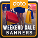 Weekend Sale HTML5 Banners - GWD - 7 Sizes (Elite-CC-101)