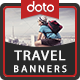 Tours & Travel  HTML5 Banners - 7 Sizes ( Elite-CC-096)