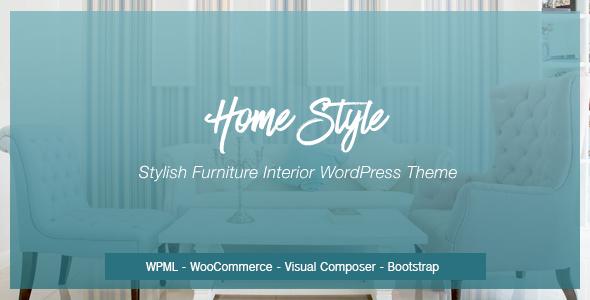 HomeStyle | Responsive Furniture Interior WordPress Theme