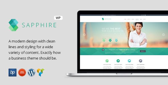 Sapphire - Responsive Business WordPress Theme