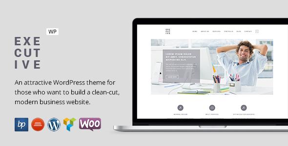Executive - Responsive Business WordPress Theme