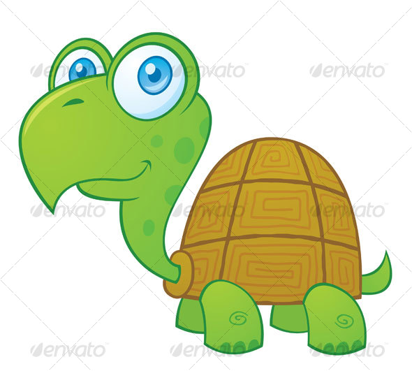 GraphicRiver Turtle Cartoon Character 69617