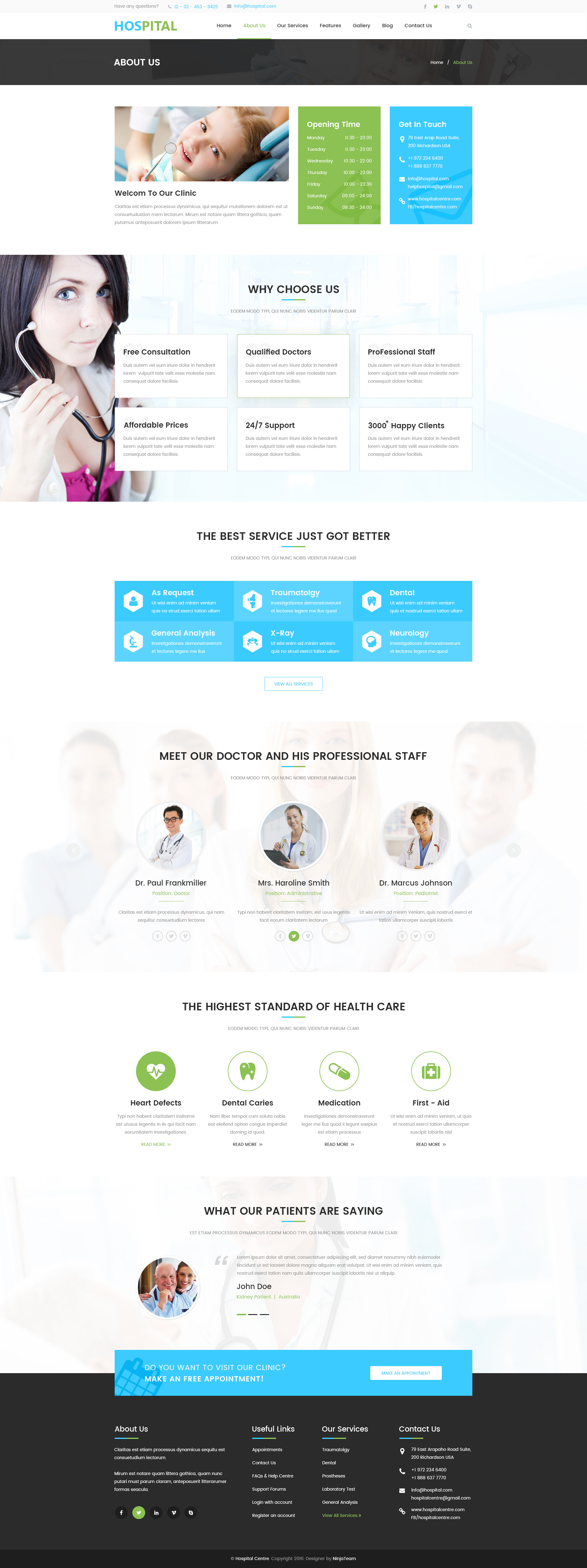 hospital menu template - hospital professional hospital services psd template by