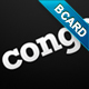 Congo – Business Card - GraphicRiver Item for Sale
