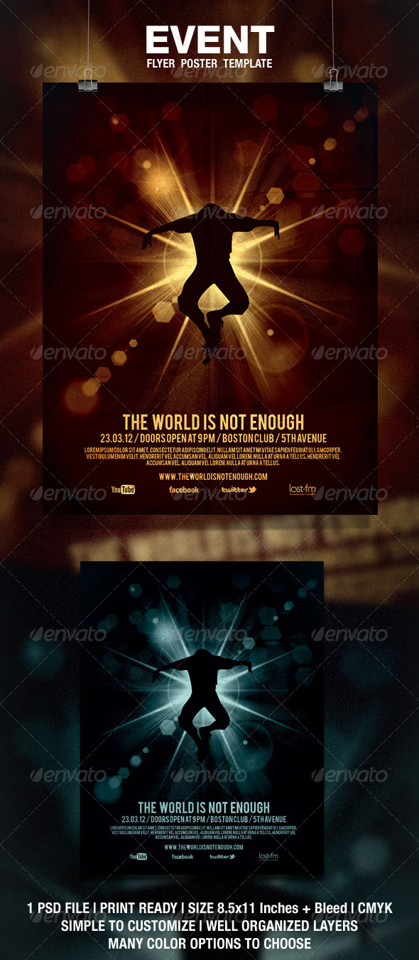 GraphicRiver Event Flyer Poster 1790064