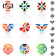 maze icons - GraphicRiver Item for Sale