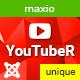 YouTube unique video gallery plugin for Joomla - YouTubeR