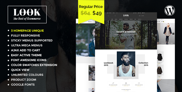 Look - Responsive Multi-Purpose Woocommerce WordPress Theme