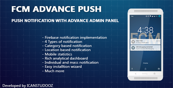 Download Push Notification/FCM + Advance Admin Panel nulled download