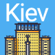 Line Flat Kiev Banner