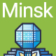 Line Flat Minsk Banner