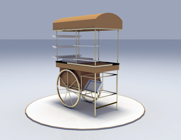 Multipurpose Cart - 3DOcean Item for Sale
