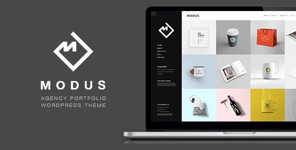 Download Modus - Portfolio WordPress Theme nulled download