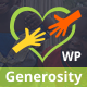 Generosity - Charity Non-profit WordPress Theme