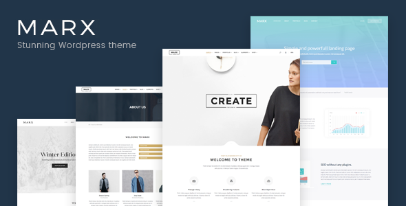 Download Marx - Responsive Creative & Multi-Purpose WordPress Theme nulled download