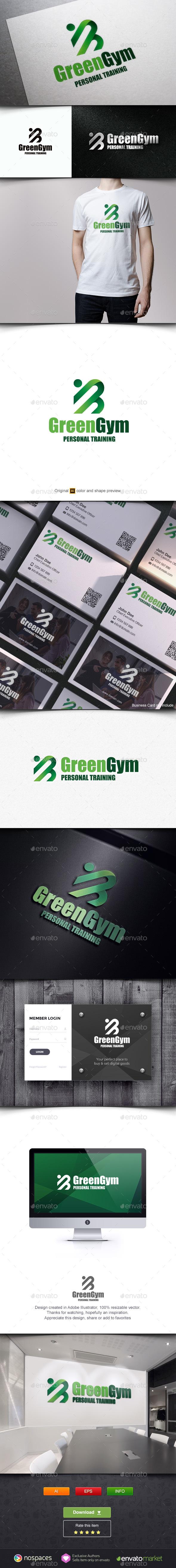 Green Gym Logo